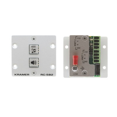 Kramer Electronics Kramer RC-5B2 Control panel Afstandsbediening - Grijs