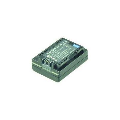 2-power batterij: 3.6V, 890mAh - Zwart