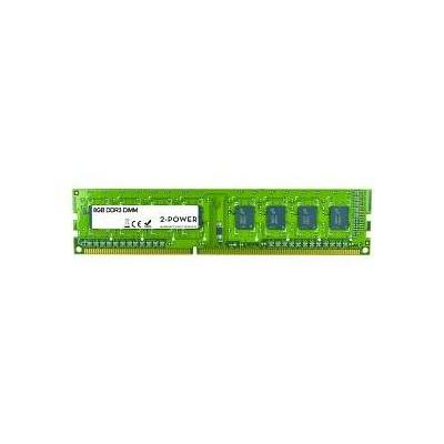 2-power RAM-geheugen: 8GB DDR3 DIMM - Groen