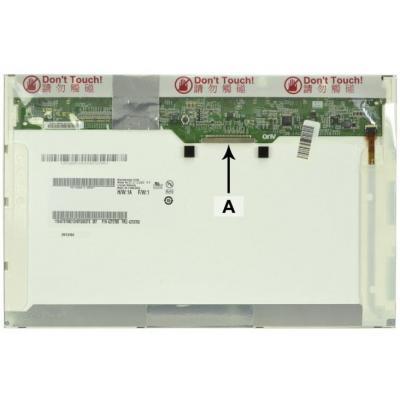 "2-power notebook reserve-onderdeel: 30.734 cm (12.1 "") , 1280x800, LED, 286g - Multi kleuren"