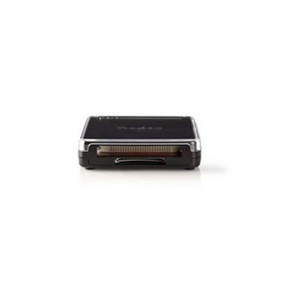 Nedis Kaartlezer, Alles-in-Eén, USB 2.0 Geheugenkaartlezer - Zwart