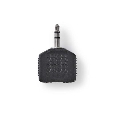 Nedis CAGP22945BK Kabel adapter - Zwart
