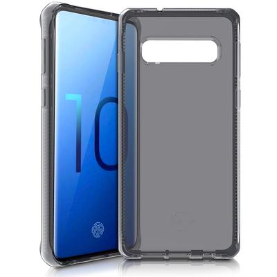 ITSKINS Spectrum Backcover Samsung Galaxy S10 - Zwart - Zwart / Black Mobile phone case