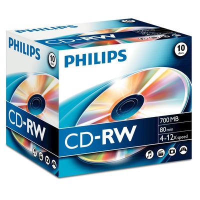 Philips De uitvinder van de technologieën achter en DVD. 700 MB/80 min. 4-12x CD