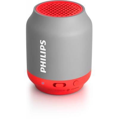 Philips draagbare luidspreker: draadloze draagbare luidspreker BT50G/00 - Grijs, Rood