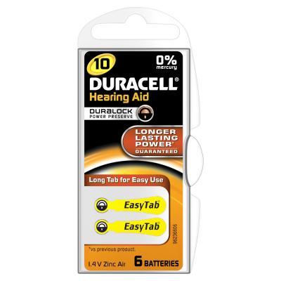 Duracell batterij: Hoortoestel Batterij 10