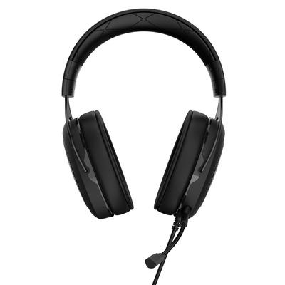 Corsair headset: HS50 - Zwart, Koolstof