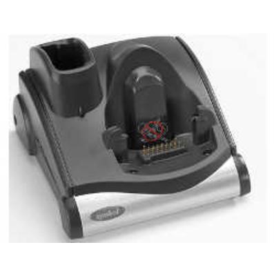 Zebra 1-Slot Serial/USB Cradle oplader - Zwart