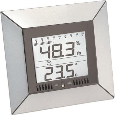 Technoline weerstation: WS 9410 - Temperature Station - Grijs, Zilver
