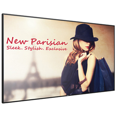 "Philips Signage Solutions 75"", 3840 x 2160, 500 cd/m², RMS 2x 10W, DisplayPort, DVI-D, HDMI (x3), VGA, Audio ....."