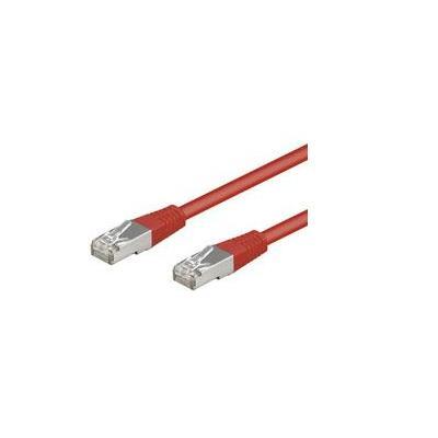 Goobay CAT 5-100 FTP Red 1m Netwerkkabel
