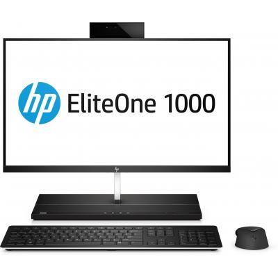 Hp all-in-one pc: EliteOne EliteOne 1000 G1 - Zwart, Zilver (Renew)