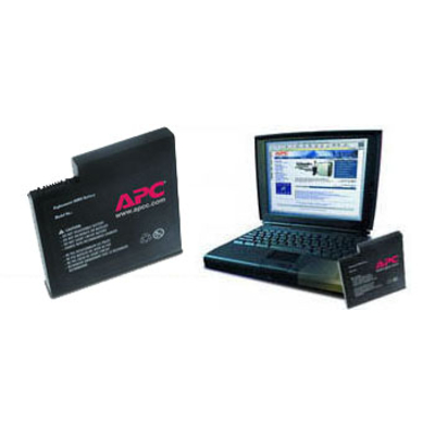 APC Battery Li-Ion 10.8V fOmniBook 4100Serie Notebook reserve-onderdeel - Zwart