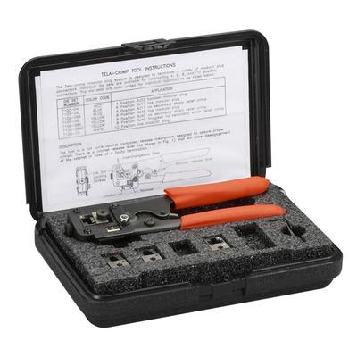 Black Box Universal RJ Tool Kit Tang - Zwart,Oranje