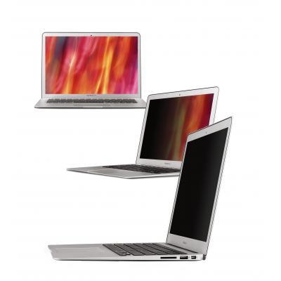 "3m schermfilter: PFMA13 Black Privacy Filter for the Apple 13"" unibody MacBook Air - Zwart"