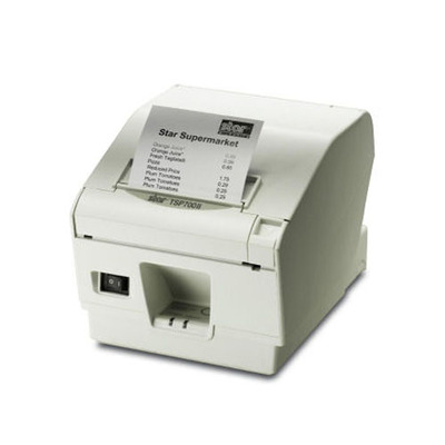 Star Micronics TSP743 II Labelprinter - Wit