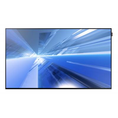 "Samsung public display: FHD Large Format Display 55"" DB55E - Zwart (Open Box)"