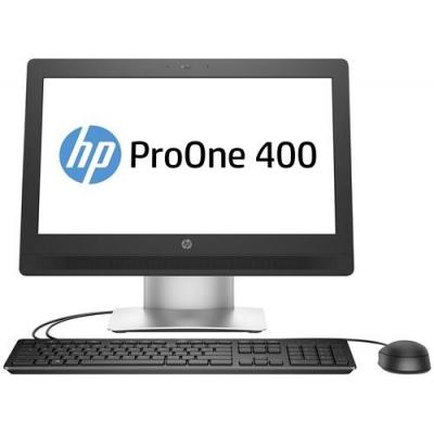 Hp all-in-one pc: ProOne 400 G2 - Exclusief voet - Zilver