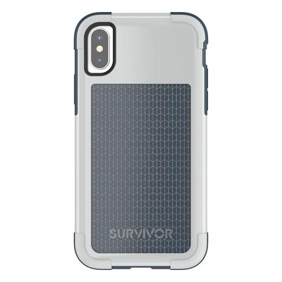 Griffin Survivor Fit Mobile phone case - Blauw, Grijs