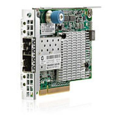 Hewlett Packard Enterprise Ethernet 10Gb 2-port 530FLR-SFP+ Netwerkkaart - Grijs