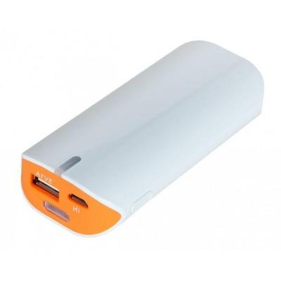 Xtorm powerbank: 5200 - Oranje, Wit