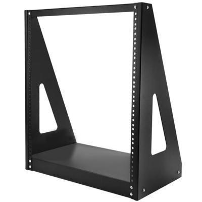 StarTech.com Heavy duty met twee stijlen Stevig open-frame serverkast 12U Rack - Zwart