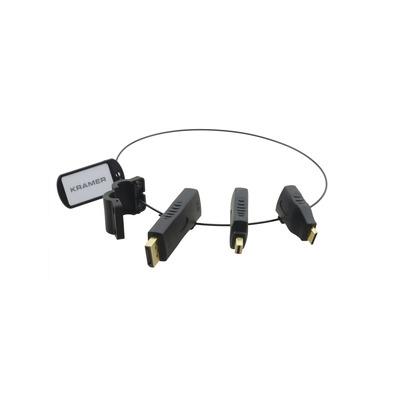 Kramer Electronics DisplayPort (M) to HDMI (F), Mini DisplayPort (M) to HDMI (F), Mini HDMI type–C .....