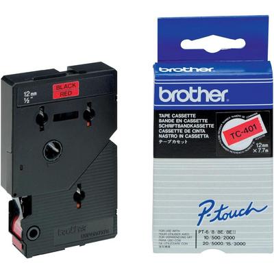 Brother TC-401 Labelprinter-tapes