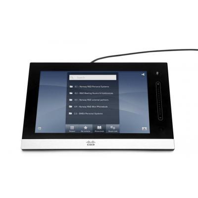 """Cisco touchscreen monitor: Touch 8"""" - Zwart, Grijs"""