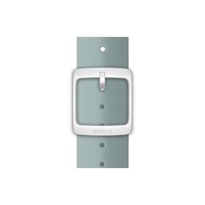 Nokia horloge-band: Silicone Wristband, 18mm - Aqua-kleur