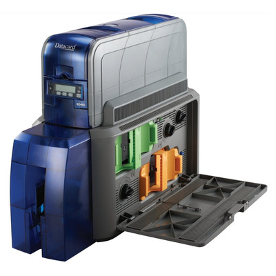 DataCard SD460 Plastic kaart printer - Zwart, Blauw