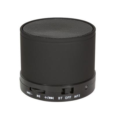 LogiLink 3 W, 280 – 16000 Hz, 95 dB, Bluetooth, 400 mAh, 186 g Draagbare luidspreker - Zwart