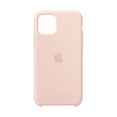 Apple Siliconenhoesje voor iPhone 11 Pro - Rozenkwarts Mobile phone case - Zand