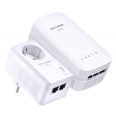 Tp-link powerline adapter: AV500 - Wit