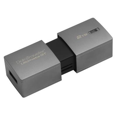 Kingston technology USB flash drive: DataTraveler DataTraveler Ultimate GT 2TB - Zilver