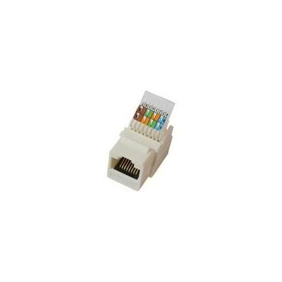 Microconnect kabel connector: UTP Cat 5e Keystone Jack - Wit