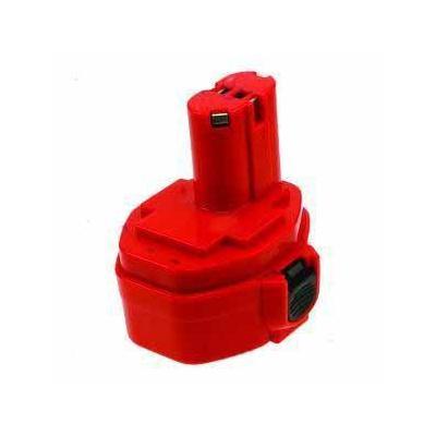 2-power batterij: Power Tools Battery, Ni-Cad, 14.4V, 2000mAh, Red - Rood
