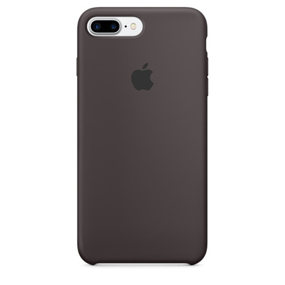 Apple mobile phone case: Siliconenhoesje voor iPhone 7 Plus - Cacao - Bruin