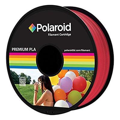 Polaroid PL-8019-00 3D printing material - Rood, Transparant