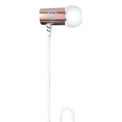 IFROGZ Luxe Air-Earbuds Headset - Roze goud, Wit