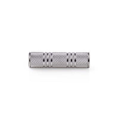 Nedis Stereo-Audioadapter, 3,5 mm Female - 3,5 mm Female, Metaal Kabel adapter - Zilver