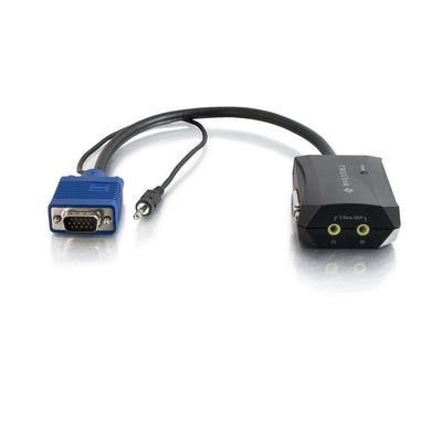 C2G 89033 Video splitter - Zwart