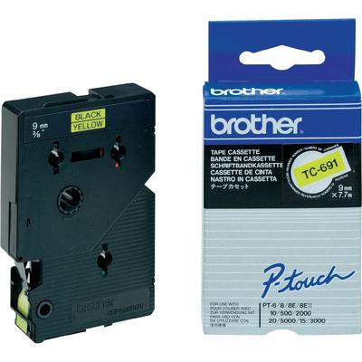 Brother TC-691 Labelprinter-tapes
