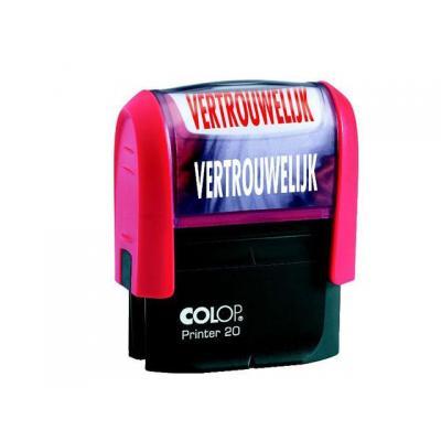 Colop stempel: Stempel Printer 20/L VERTROUWELIJK