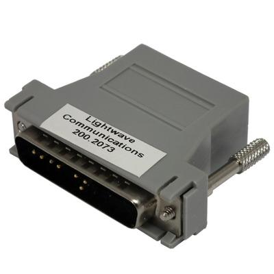 Lantronix RJ45 - DB25M Kabel adapter - Grijs