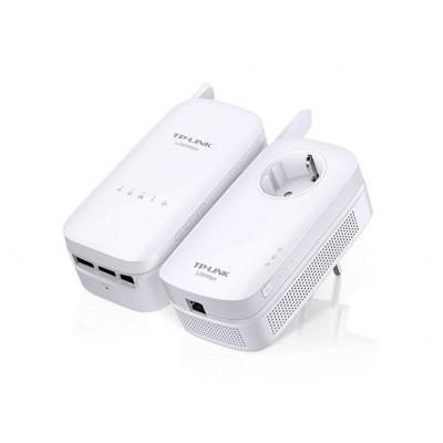 Tp-link powerline adapter: TL-WPA8630 KIT - Wit