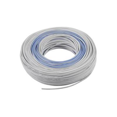 Valueline signaal kabel: 2 x 0.35 mm2, 100m, White - Wit
