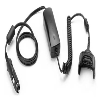 Zebra Vehicle Charge Cable, 12/24V Electriciteitssnoer - Zwart