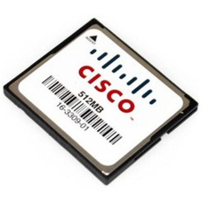 Cisco 512MB Compact Flash for 1900, 2900, 3900 ISR, Spare Networking equipment memory