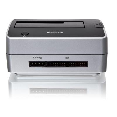 Freecom HDD/SSD docking station: Hard Drive Dock Pro - Zwart, Zilver